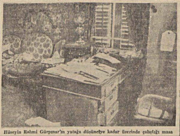 """10 Mart 1944: """"Üstad Hüseyin Rahmi bugün defnediliyor"""""""