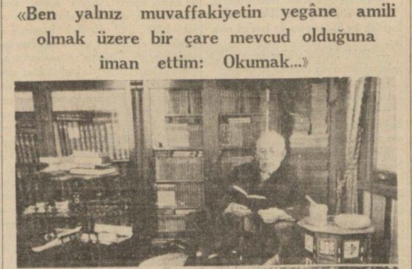 """5 Mayıs 1937: """"55inci san'at yılını kutluladığımız edib: Halid Ziya"""""""