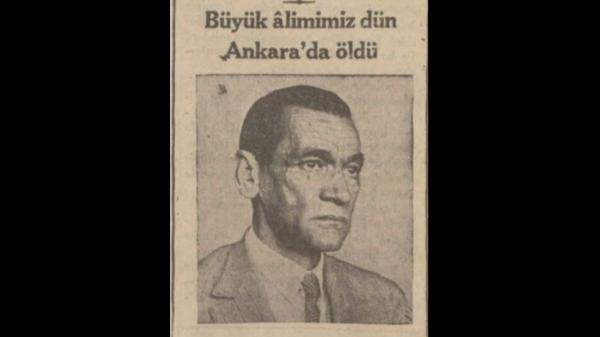 """4 Aralık 1932: """"Samih Rıfat'ı kaybettik"""""""