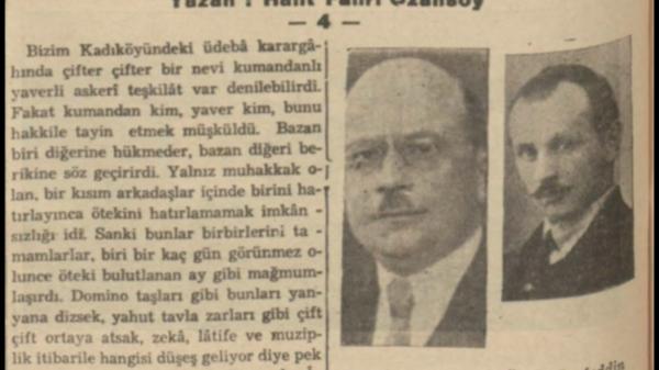 """Halit Fahri'nin """"Kadıköyünde beş yıl süren bir edebiyat sezonu-4"""" başlıklı yazısı"""