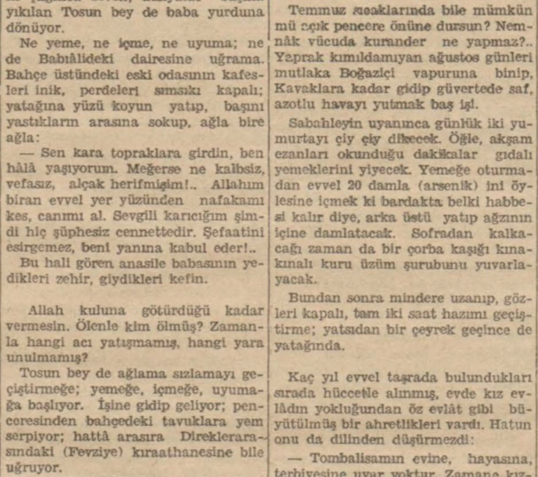 """Sermet Muhtar'ın """"Tosun beyin başına gelen"""" başlıklı yazısı"""