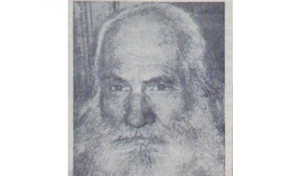 """31 Aralık 1949: """"Büyük bir kayıp: Filozof Rıza Tevfik dün gece vefat etti"""""""