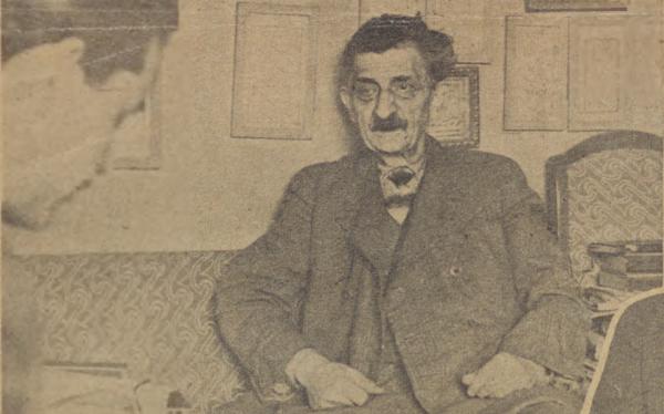 Oğuz Özdeş'in İbnülemin Mahmud Kemal röportajı
