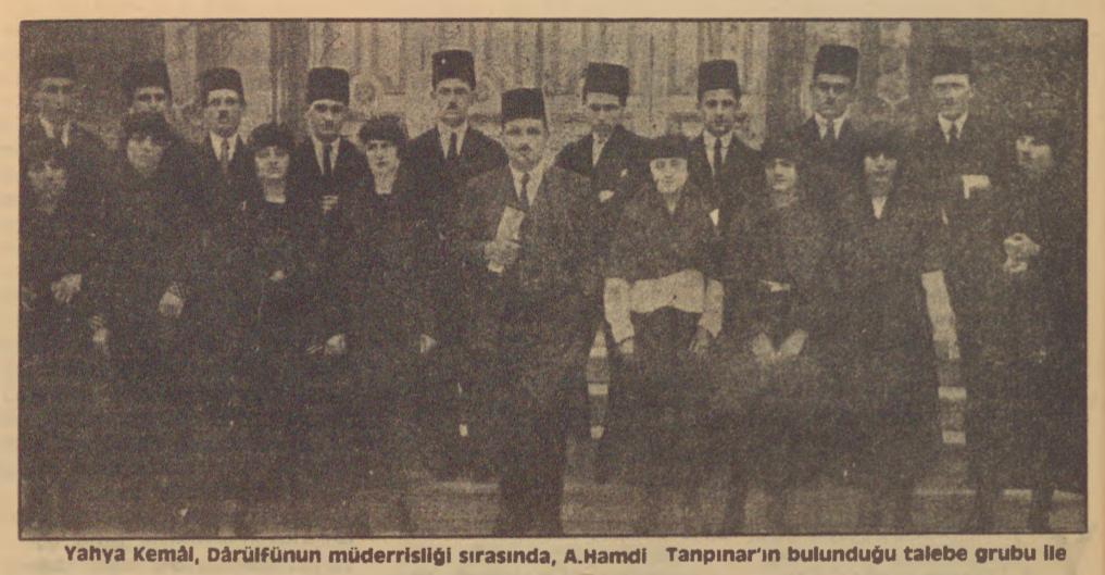 """Turan Alptekin'in """"Tanpınar'ın Yahya Kemal'e bakışı"""" başlıklı yazısı"""
